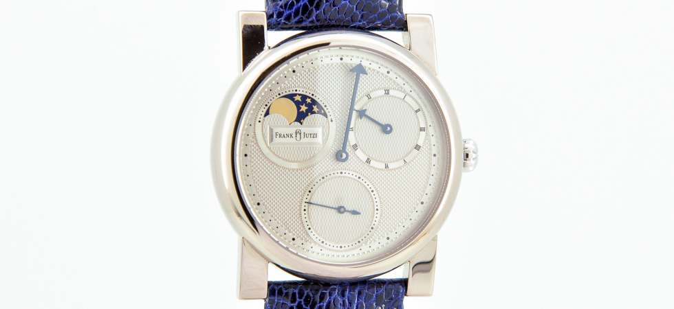 Armbanduhr Regulator mit Mondphase