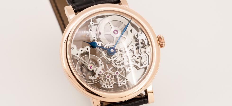 Armbanduhr skelettiert